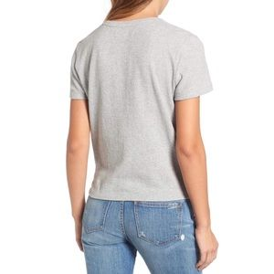 Madewell Tops - Madewell Texture & Thread Modern Tie-Front Top